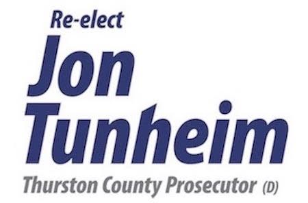 Elect Jon Tunheim for Thurston County Prosecutor Logo